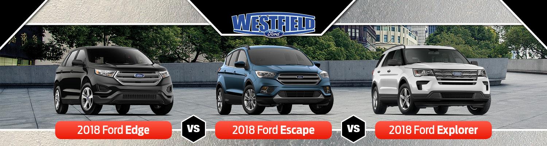Ford Edge Vs Escape Vs Explorer