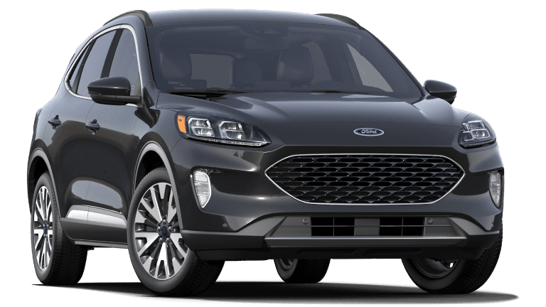 2020 Ford Escape Titanium - Black