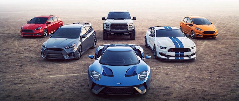 Ford Performance Lineup