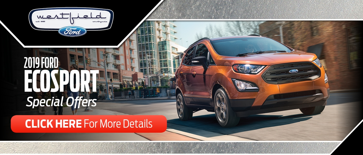 2019 Ford EcoSport Special Offers