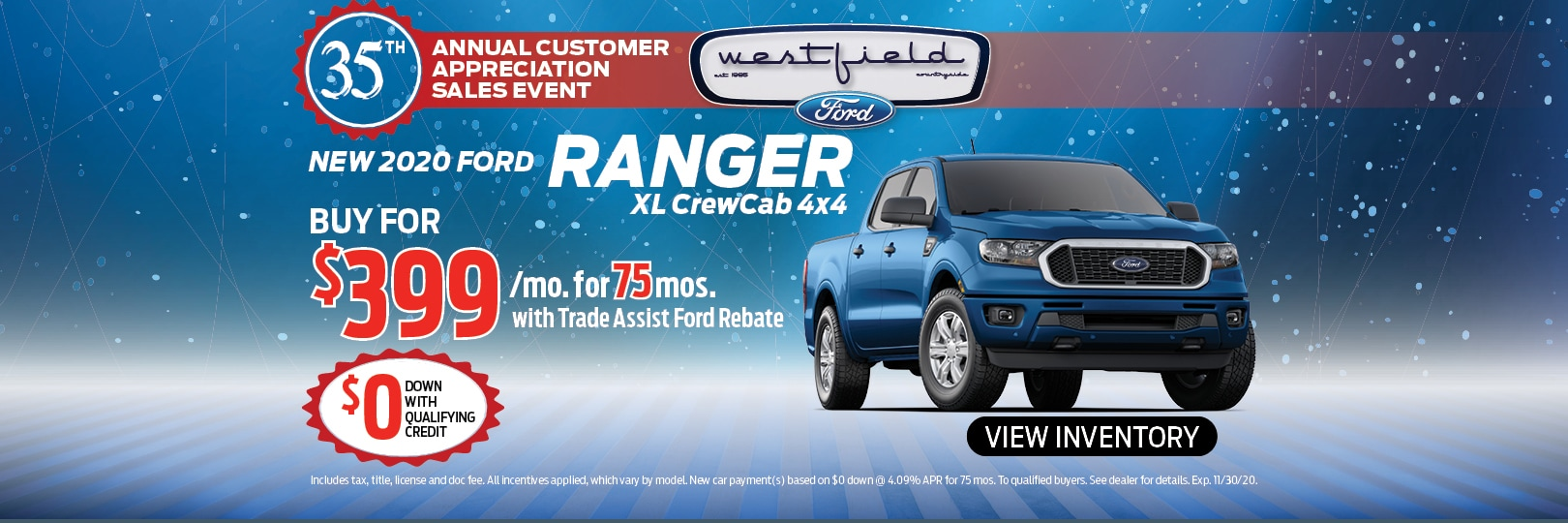 New 2020 Ford Ranger XL | Countryside, IL