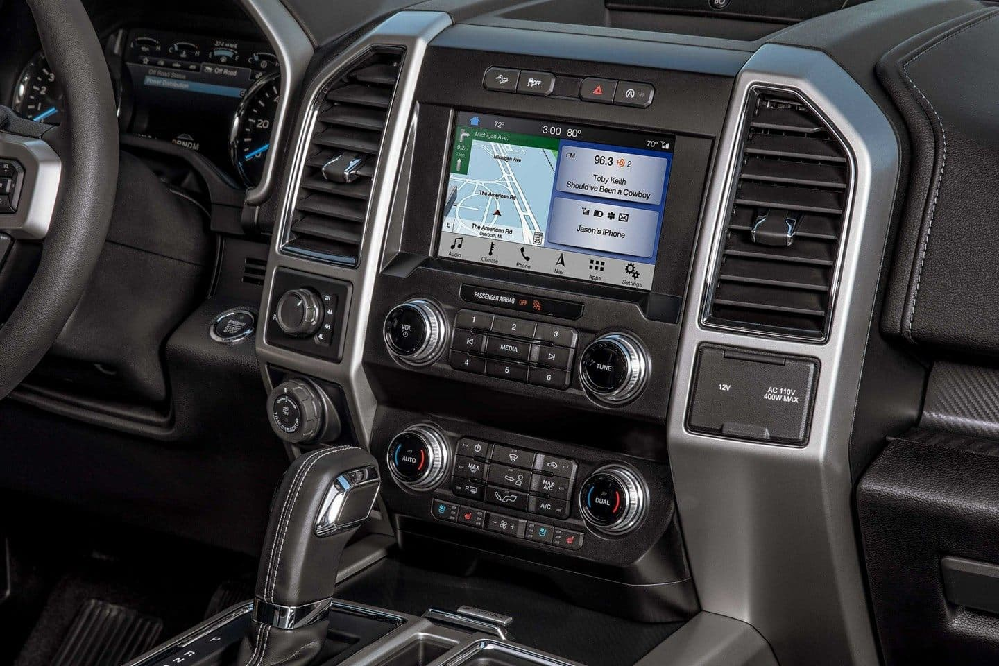 Ford F-150 Interior Dashboard