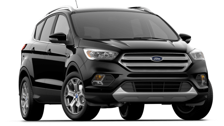 2017 Ford Escape Titanium - Agate Black