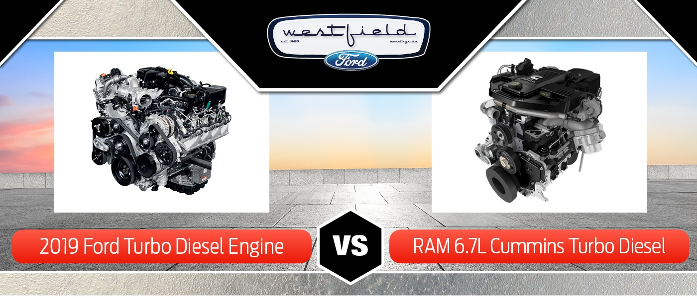 Ford 6.7L Power Stroke® Turbo Diesel vs. Ram 6.7L Cummins® Turbo Diesel in Countryside, IL