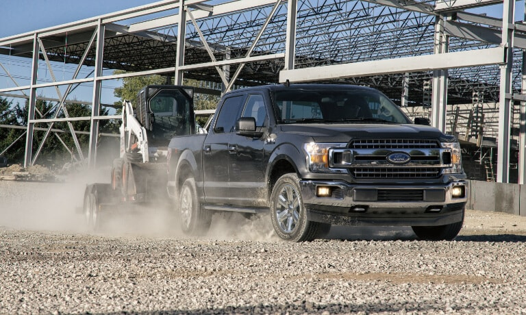 2020 Ford F-150 Towing construction Equipment