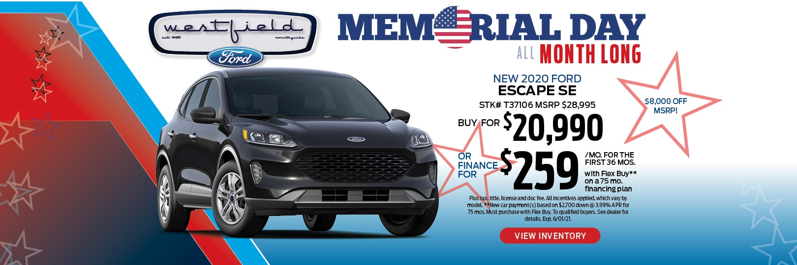 2020 Ford Escape Buy Offer | Countryside, IL