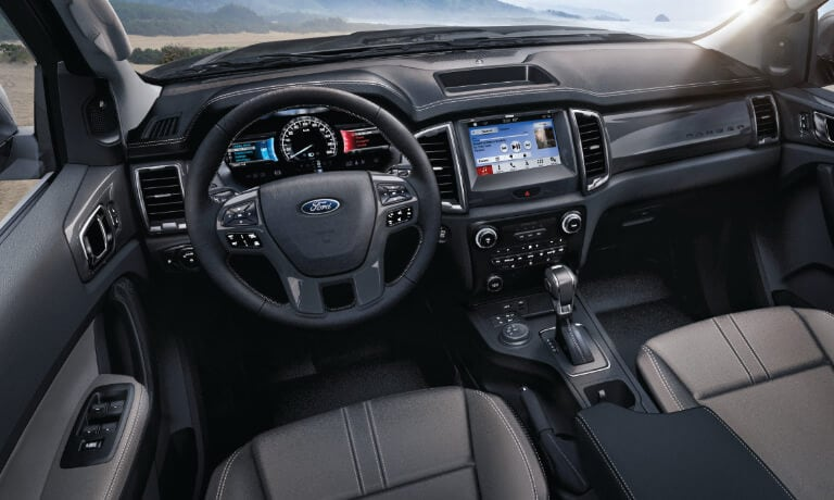 2019 Ford Ranger Interior Dashboard