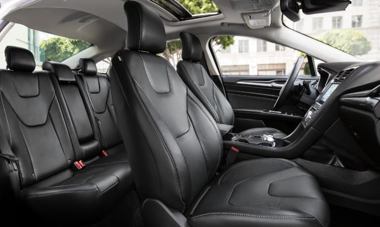 2020 Ford Fusion Passenger Interior View