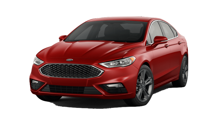 2018 Ford Fusion - Red