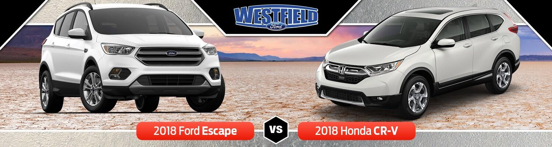 2018 Ford Escape Vs. 2018 Honda CR V