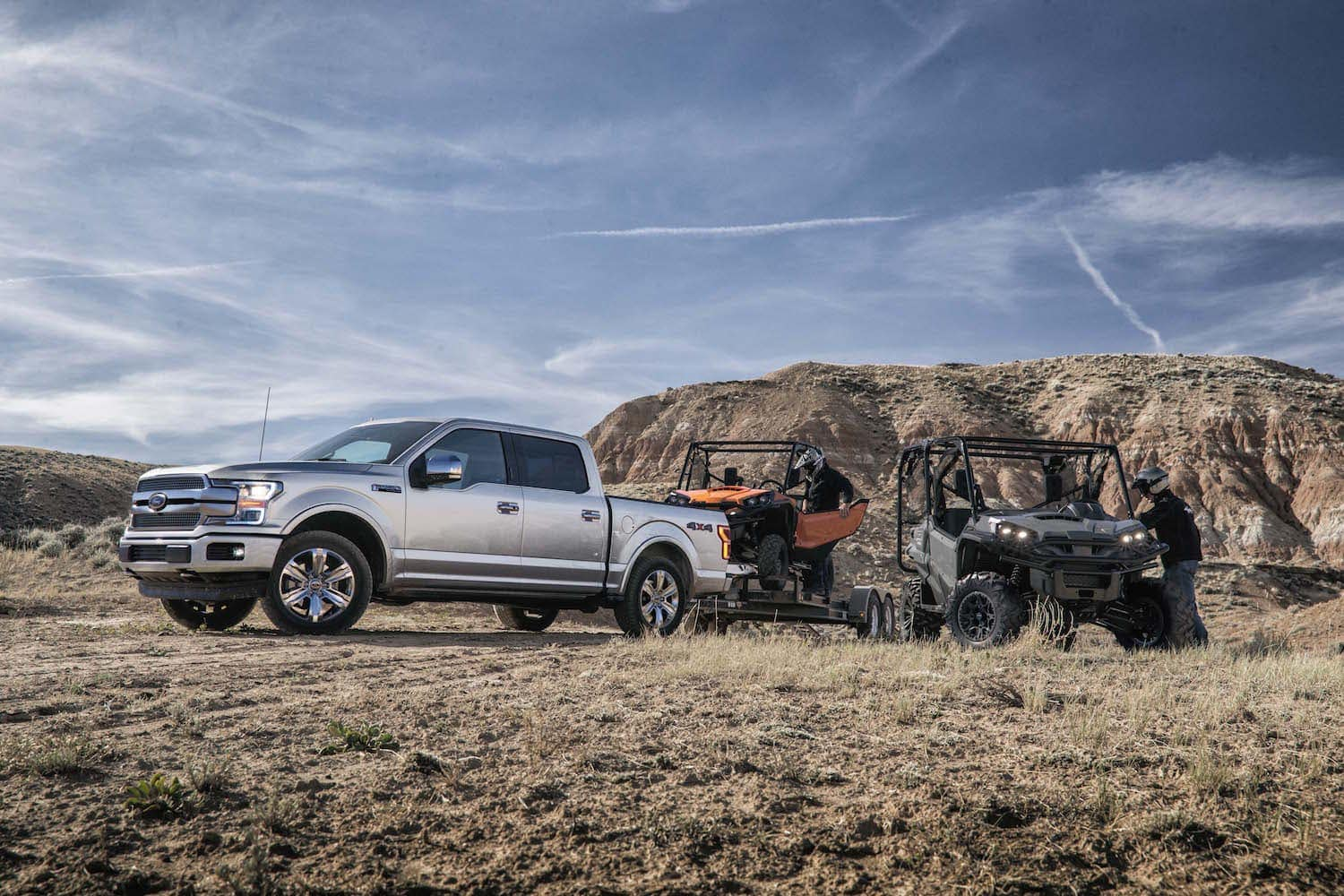 Ford F-150 Towing ATVs