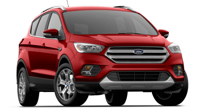 2018 Ford Escape Titanium - Ruby Red