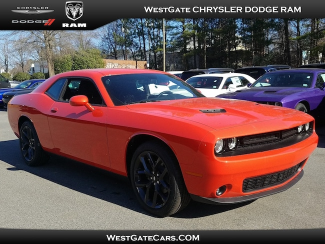New 2019 Dodge Challenger SXT Coupe for sale in Raleigh, NC