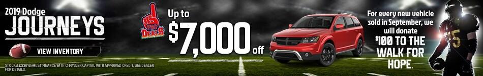 2019 Dodge Journeys - September