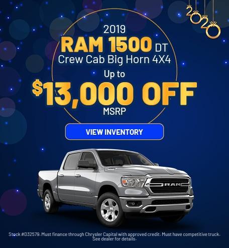 January 2019 Ram 1500 Offer
