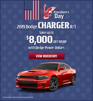 February 2019 Dodge Charger R/T