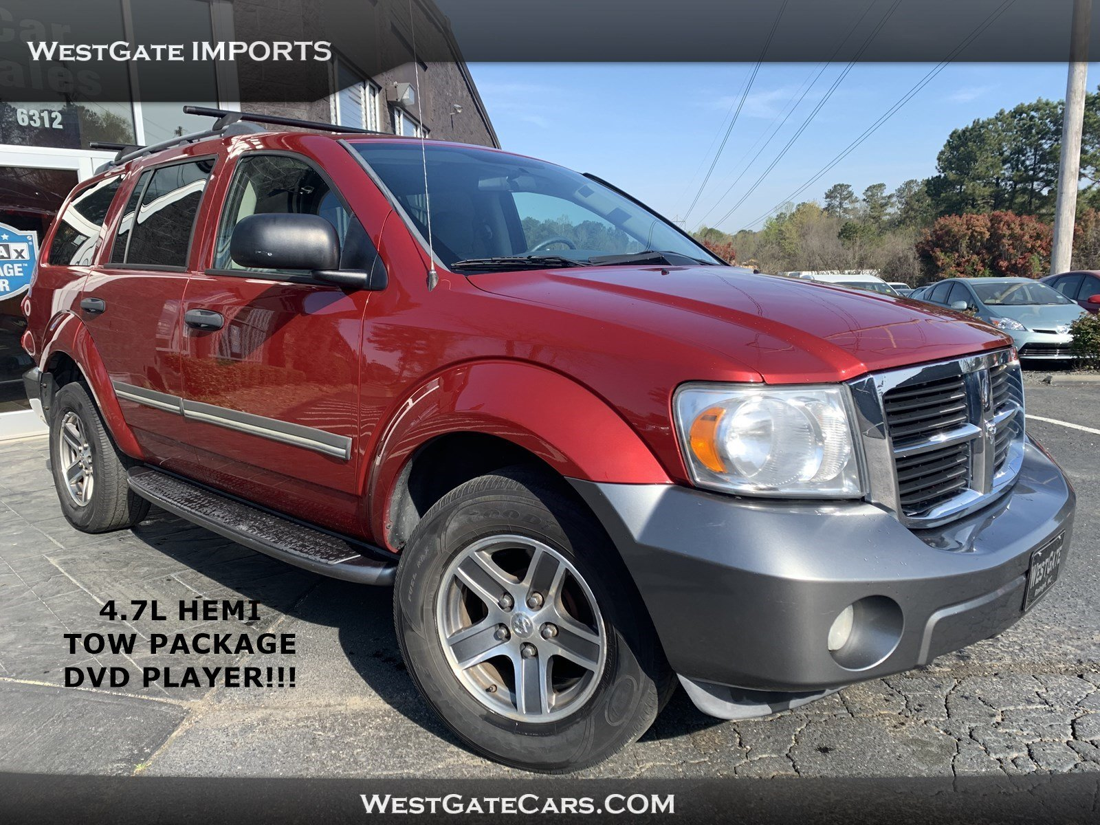 Used 2008 Dodge Durango Adventurer for sale in Raleigh,NC
