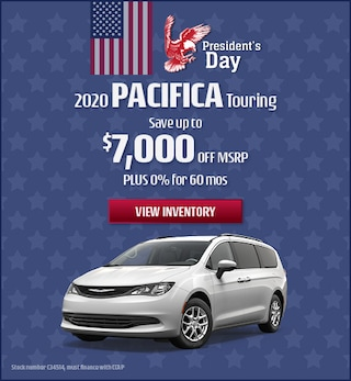 February 2020 Chrysler Pacifica Touring