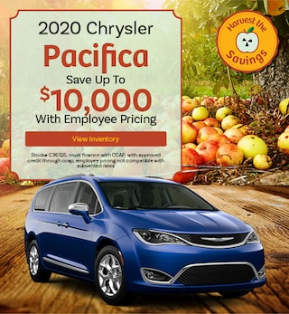 2020 Chrysler Pacifica - October