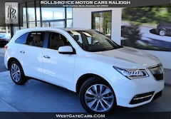 Used 2016 Acura MDX w/Tech SUV AWD P3089 for Sale in Raleigh, NC