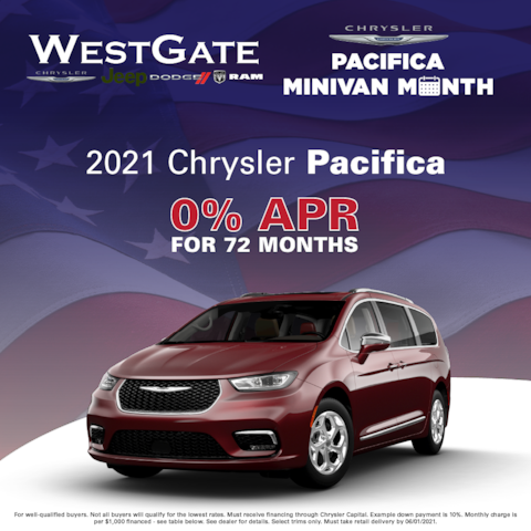 2021 Chrysler Pacifica - Pacifica Minivan Month