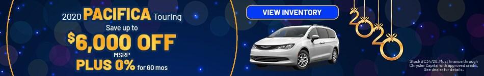January 2020 Chrysler Pacifica Offer