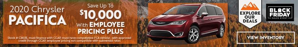 2020 Chrysler Pacifica - November