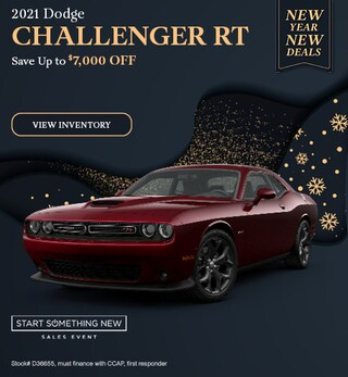 2021 Dodge Challenger RT - Jan