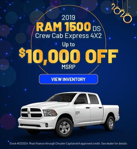 January 2019 Ram 1500 Express Offer