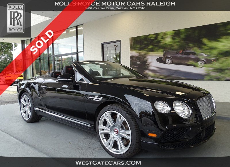 2017 Bentley Continental GT V8 Convertible AWD