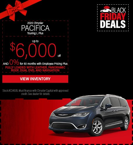 November 19 2020 Chrysler Pacifica
