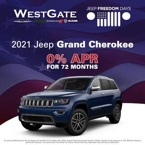 2021 Jeep Grand Cherokee - Jeep Freedom Days