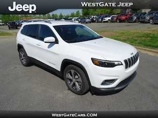 New 2019 Jeep Cherokee LIMITED FWD Sport Utility in Raleigh, NC