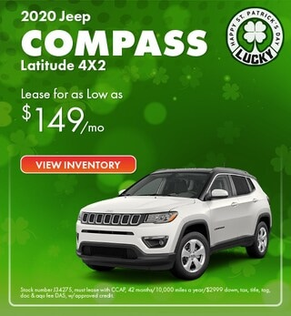 2020 Jeep Compass Lease Offer