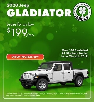 2020 Jeep Gladiator Lease Offer