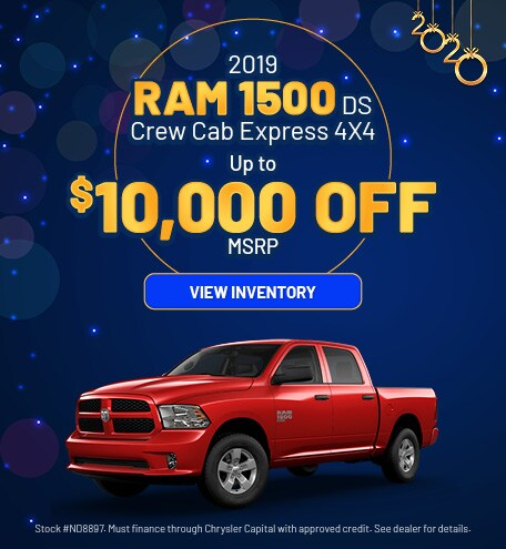 January 2019 Ram 1500 Express Offer