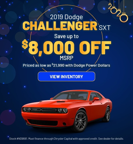 January 2019 Dodge Challenger Offer