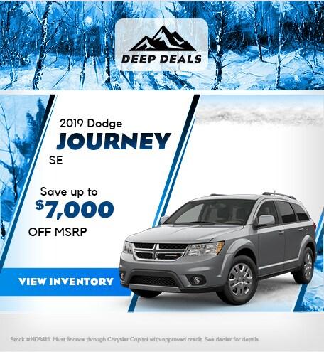 December 2019 Dodge Journey Offer