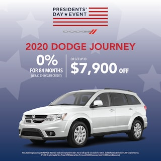 New 2020 Dodge Journey Presidents' Day Sales Event