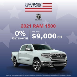 Ram 1500 Presidents' Day Sales Event