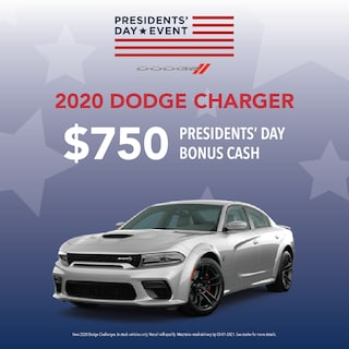 New 2020 Dodge Charger Presidents' Day Sales Event