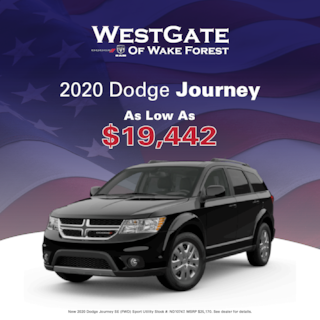 New 2020 Dodge Journey Special Offer