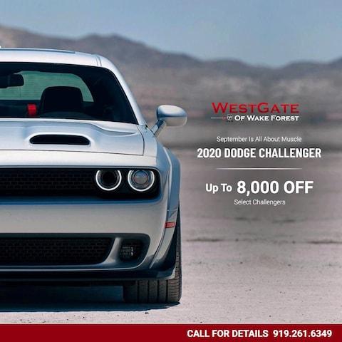New 2020 Dodge Challenger Special Offer