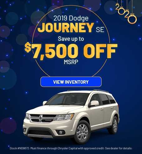 January 2019 Dodge Journey Offer