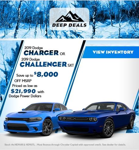 December 2019 Dodge Challenger & Charger Offer