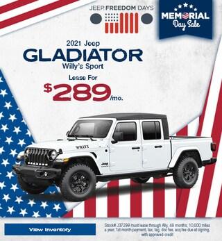 2021 Jeep Gladiator Willy's Sport