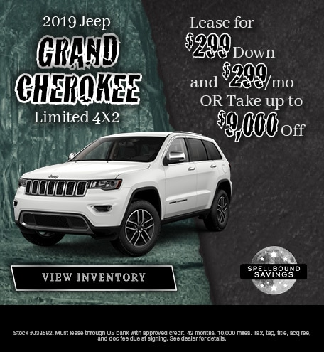 October 2019 Grand Cherokee Special