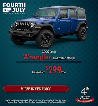 2020 Jeep Wrangler Unlimited Willys  - July
