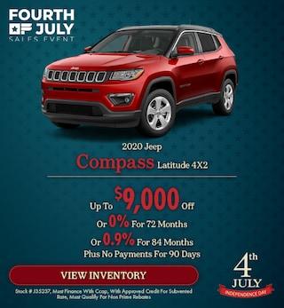 2020 Jeep Compass Latitude 4X2 - July