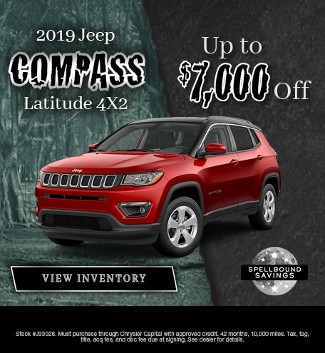 October 2019 Jeep Compass Special
